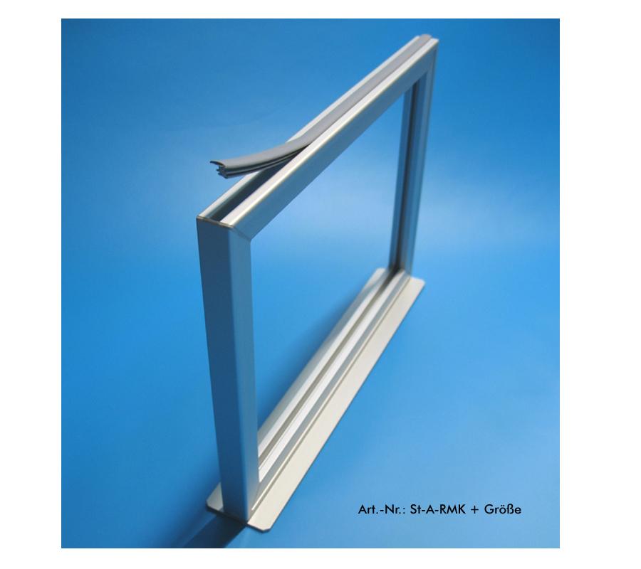 Plakat- und Preishalter aus Metall
