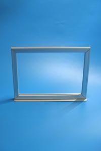 1 x DIN A3 Alu-Klapprahmen Plakatrahmen in Chrome
